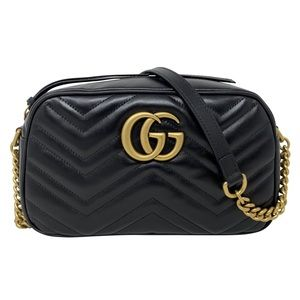 3db427968 Gucci · Gucci GG Marmont Small Crossbody Shoulder Handbag